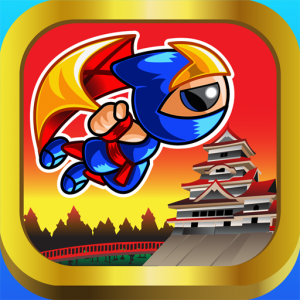Flying Ninja Boy IOS Mobile Game App